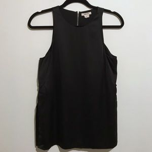 HELMUT LANG | Silk Sleeveless Double Layer Top